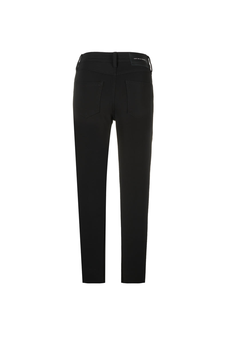 Claudia/ Viscose Power Stretch Skinny Black