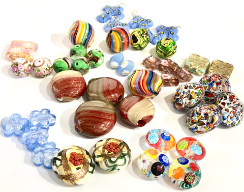 Sale on Venetian Foil and Murano Glass