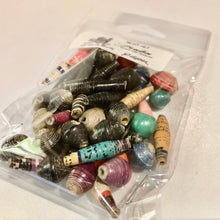 Load image into Gallery viewer, Zambia Paper Beads (Small)