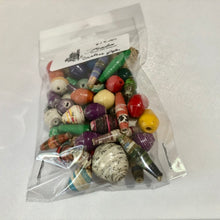Load image into Gallery viewer, Zambia Paper Beads (Large)