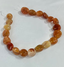 Load image into Gallery viewer, Large Tumbled Carnelian Nuggets