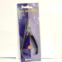 Load image into Gallery viewer, Beadsmith Chain Nose Plier with Spring
