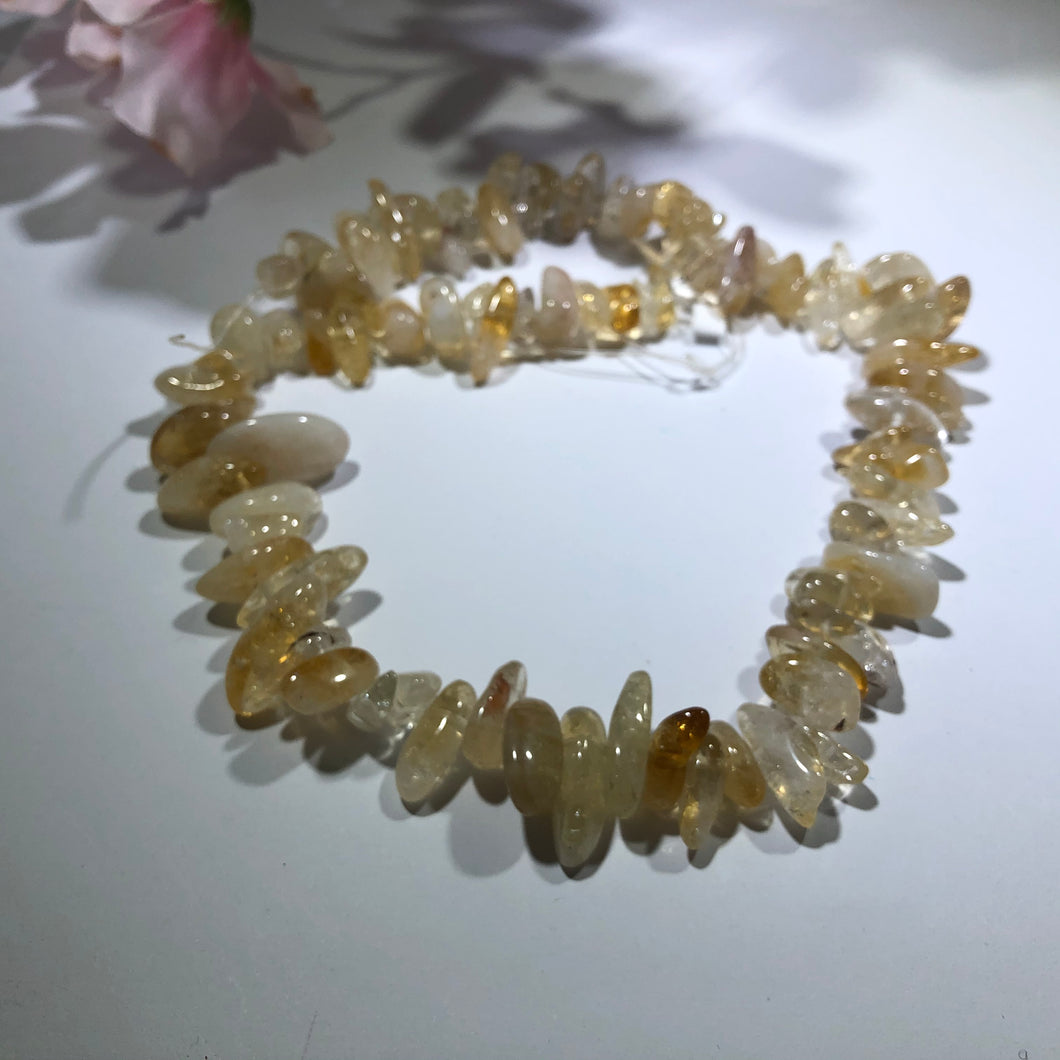 Graduated Citrine Chip, 15