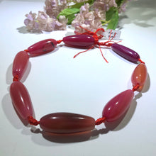 Load image into Gallery viewer, Huge Fuchsia Agate Teardrop Stones