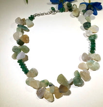 Load image into Gallery viewer, Ocean Jasper and New Jade Necklace
