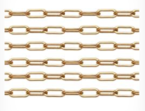 Gold Filled Chain, 14K Drawn Flat Cable Chain