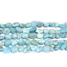 Load image into Gallery viewer, Larimar 8 x 10MM Pebbles