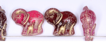 Load image into Gallery viewer, Czech Glass Elephant Bead