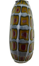Load image into Gallery viewer, Murano Glass Bead Blown and Sculpted Disc 40MM