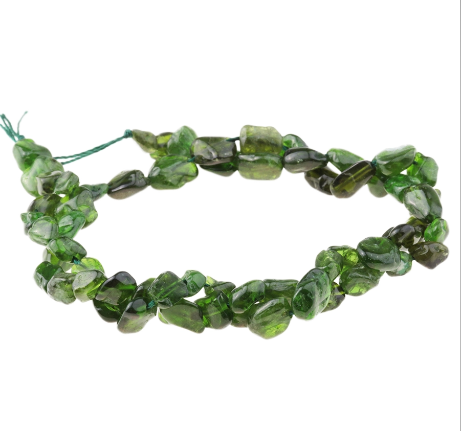 Diopside 5 - 6MM Pebble Strand 16