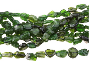 Diopside 5 - 6MM Pebble Strand 16""