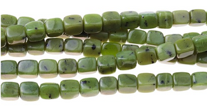Jade 8x10 MM Tumble Nugget 8""