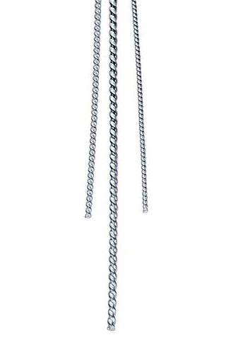 Sterling Silver Round Twist-Pattern Wire -16 Gauge., Half Hard