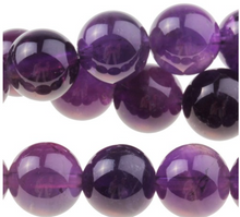 Load image into Gallery viewer, Amethyst Rounds, 10MM