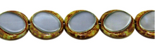 Load image into Gallery viewer, Czech Escooko Table Cut Glass Coin Beads