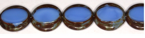 Czech Escooko Table Cut Glass Coin Beads