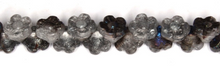 Load image into Gallery viewer, Czech Pressed Glass Small Flat Flower Bead