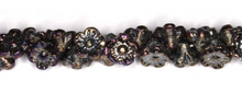 Load image into Gallery viewer, Czech Pressed Glass Flower Beads Side Drilled 6MM