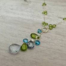 Load image into Gallery viewer, Ocean Drop Sundance Style Lariat Necklace
