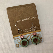 Load image into Gallery viewer, Czech Glass Summertime Earrings