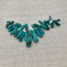 Load image into Gallery viewer, Fancy Cut Large Briollet Turquoise Stones