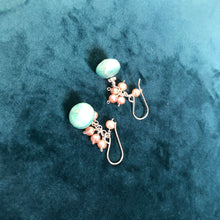 Load image into Gallery viewer, DIY Earring Kit, Raw Aquamarine Earrings