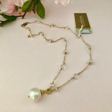 Load image into Gallery viewer, Freshwater Pearl Bridal Necklace