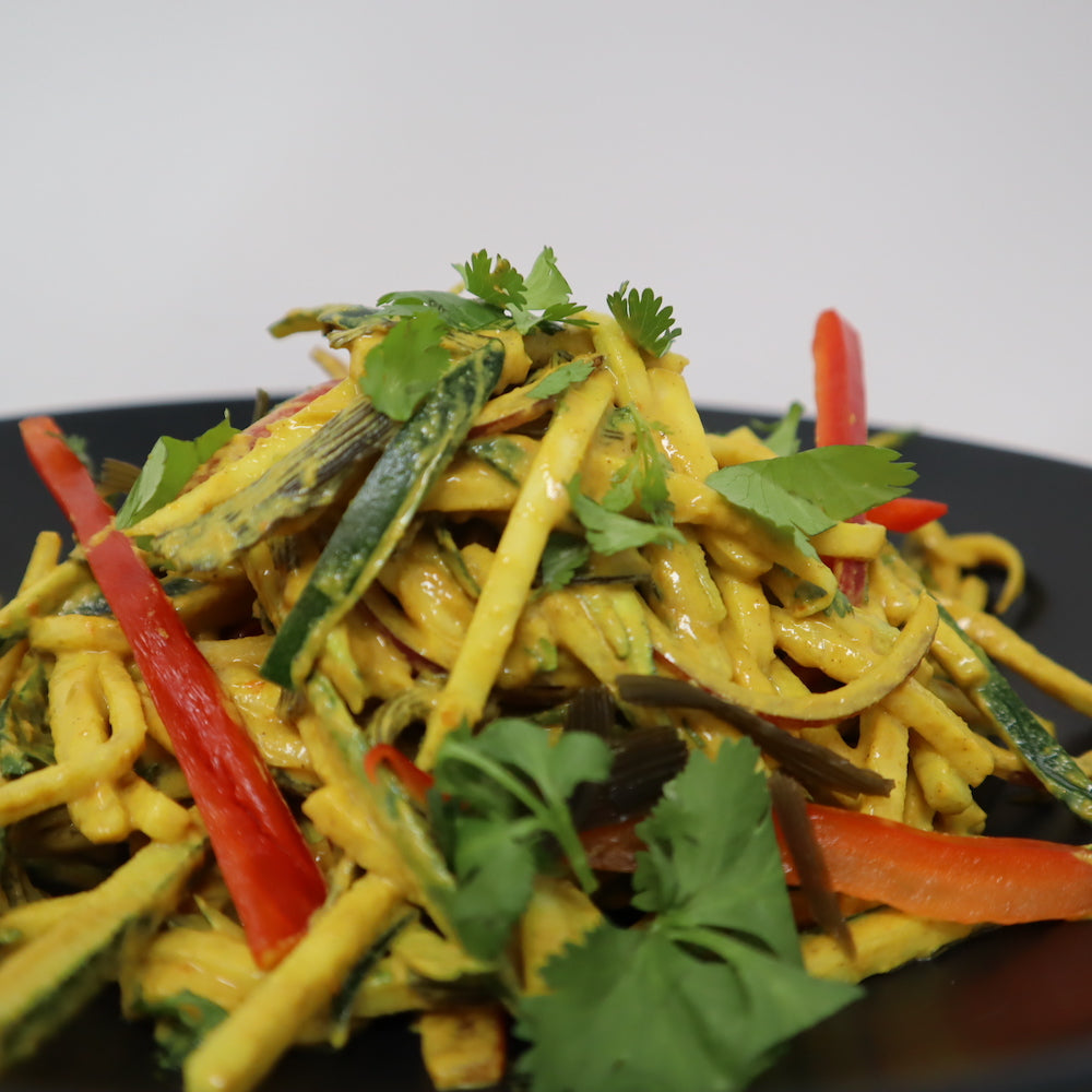 Curry Cashew Pasta