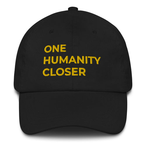 One Humanity Closer Black Cap