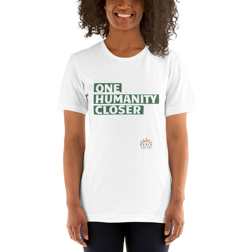 One Humanity Closer Tee - White