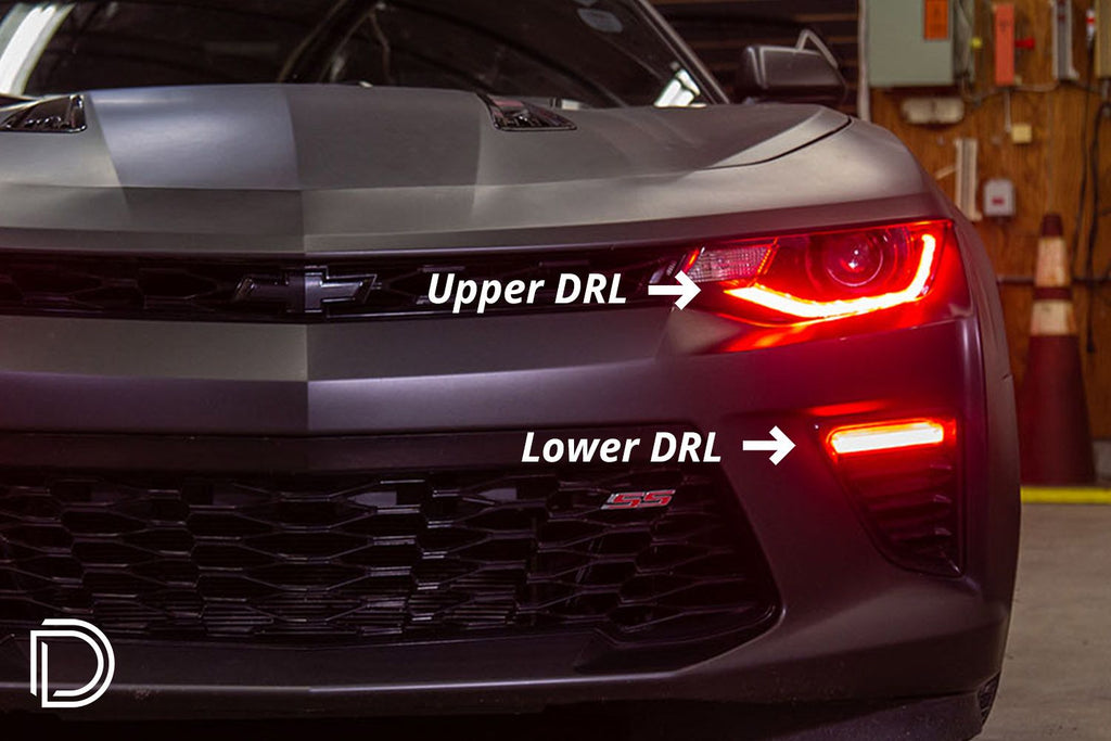 Camaro 2016-2018 RGBWA Upper DRL Boards