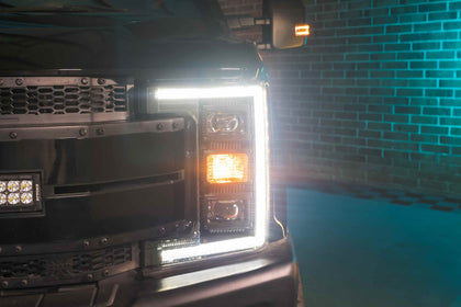 Ford Super Duty (2017-2019): XB Hybrid LED Headlights