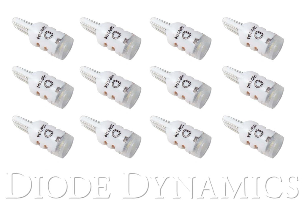 194 LED Bulb HP5 LED Cool White Set of 12