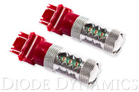 3157 LED Bulb XP80 LED Red Pair