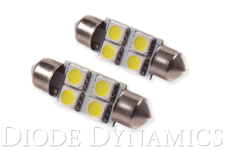 36mm SMF4 LED Bulb Red Pair