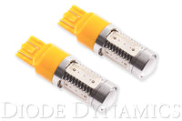 7443 LED Bulb HP11 LED Amber Pair