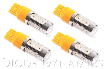 7443 LED Bulb HP11 LED Amber Set of 4