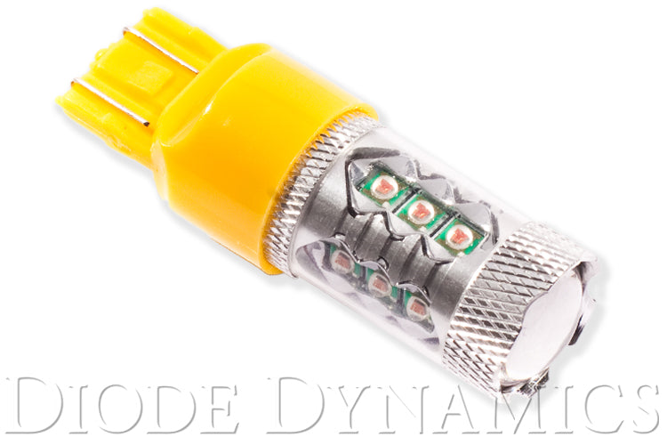 7443 LED Bulb XP80 LED Amber Single