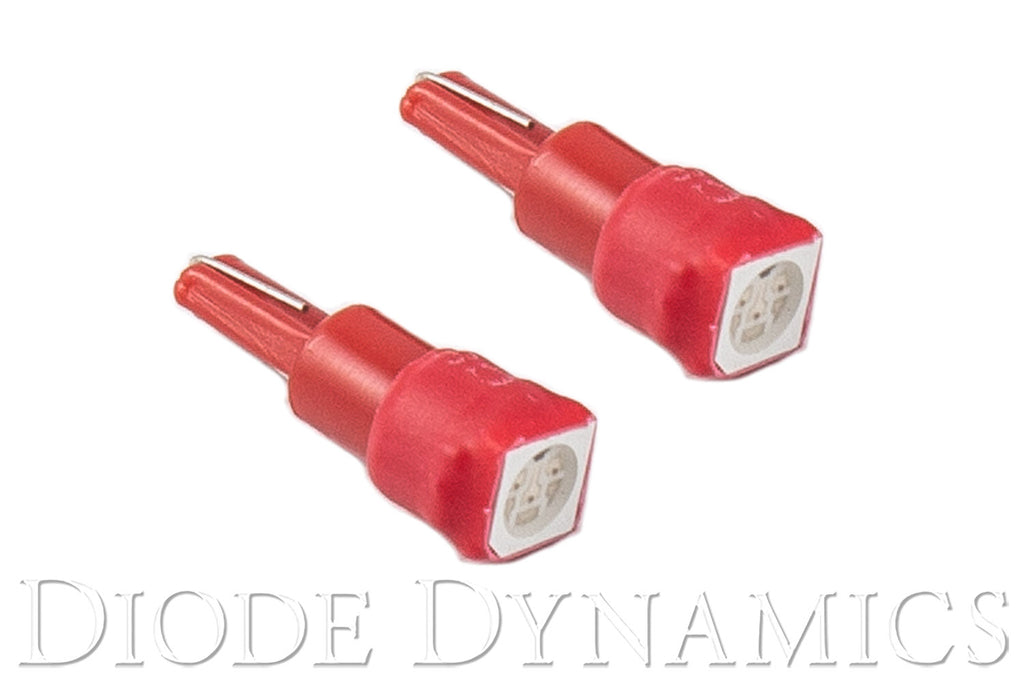 74 SMD1 LED Red Pair