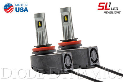 H11 SL1 LED Headlight Pair