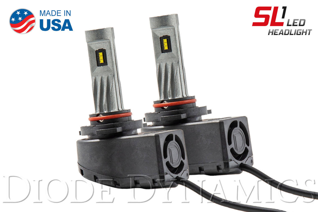 9005 SL1 LED Bulbs Pair
