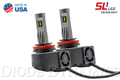 H9 SL1 LED Headlight Pair