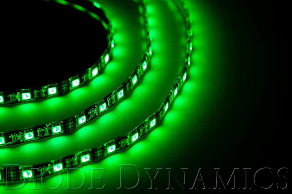 LED Strip Lights Green 50cm Strip SMD30 WP