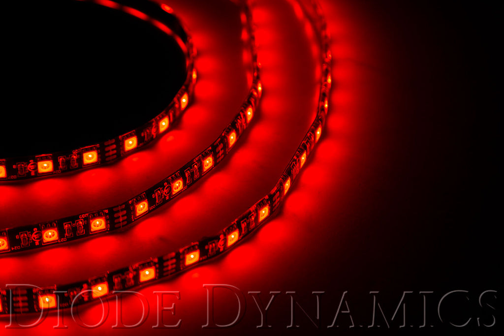 LED Strip Lights Red 200cm Strip SMD120 WP