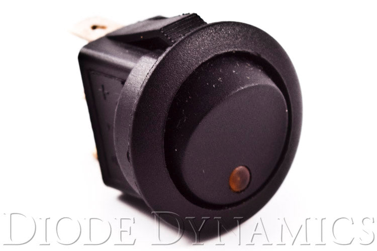LED Toggle Switch Amber