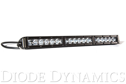 18 Inch LED Light Bar  Single Row Straight Clear Driving Each Stage Series