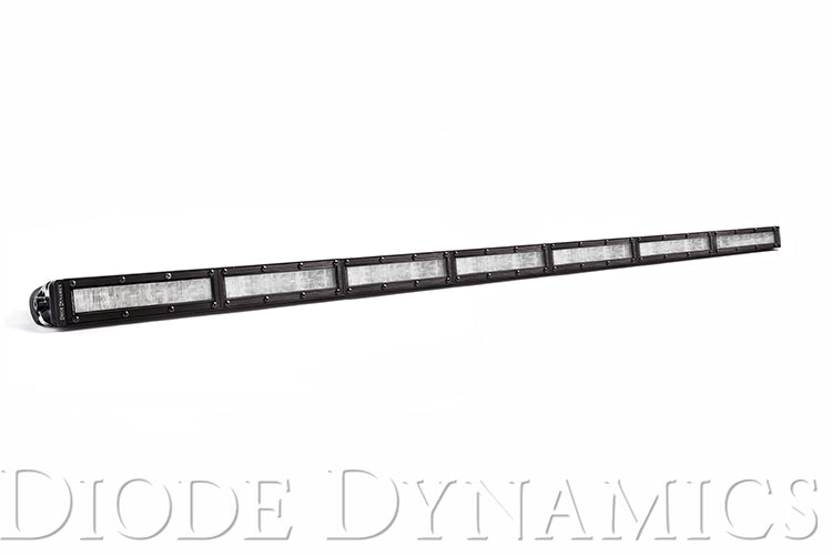 42 Inch LED Light Bar  Single Row Straight Clear Wide Each Stage Series
