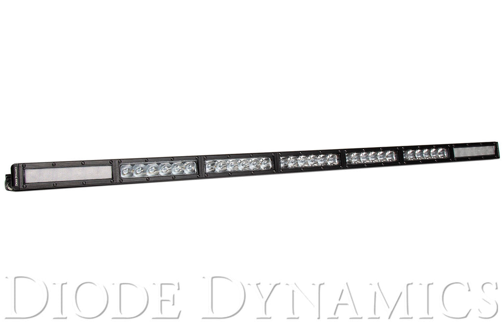 42 Inch LED Light Bar  Single Row Straight Clear Combo Each Stage Series
