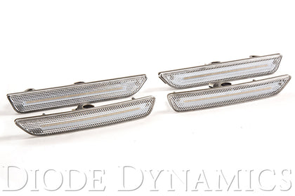 Mustang 2010 LED Sidemarkers Clear Set