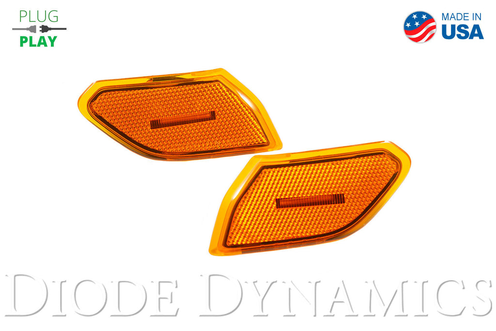 Jeep JL Sidemarkers Amber Set